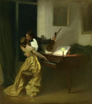 QBela_Peinture_Sonate à Kreutzer_René François Xavier Prinet