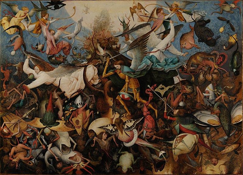 QBéla_Image_Pierre-Bruegel-l'Ancien_La-Chute-des-Anges-Rebelles.